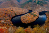 Horseshoe Bend auvergnat (www.didierbonnettephotography.com) Tags: pourpre automne autumn canon 5dmkii auvergne méandre queuille river