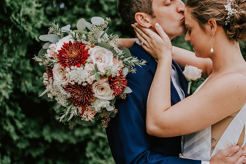 """Burgundy Cremones Bouquet • <a style=""""font-size:0.8em;"""" href=""""http://www.flickr.com/photos/81396050@N06/27097631429/"""" target=""""_blank"""">View on Flickr</a>"""
