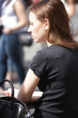 Smoke (if you insist) Tags: addict smoking smoker candid cigarette female nicotine exhale eurosmoke