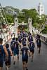 Runners along Cavanah Bridge (Rajan Raju) Tags: cavanahbridge singaporeriver singapore runners