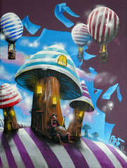Graffiti Mainz - Nap in the Mushrooms World (Carandoom) Tags: sieste nap rêve dream mouse rat souris mushrooms champignon 2017 mainz mayence allemagne germany deutschland grafity grafiti street photo photography color colorful paint painting