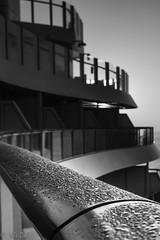 Morgentau (ulidolz) Tags: spain spanien barcelona schwarzweis blackwhite cruiseship aida eos5dmarkiv canon hafen harbor schiff ship sonnenaufgang sunrise morgengrauen dawn morgen tau morning dew