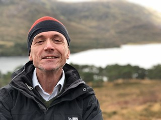 Me, Loch Affric walk