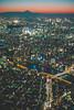 Tokyo sunset with Mount Fuji (mripp) Tags: art vintage retro old cityscape city urban stadt tony japan asia night view sunset sonnenuntergang fuji poster leica m10 summicron 50mm