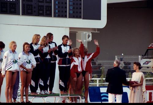 456 Swimming EM 1991 Athens