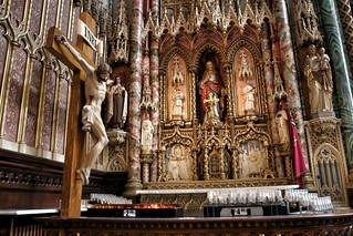 Ottawa Ontario ~ Canada ~ Notre-Dame Cathedral Basilica ~ National Historic Site of Canada - Altar