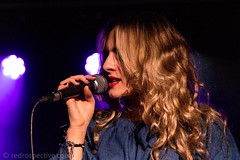 Katy Hurt-1894 (redrospective) Tags: 20171006 london sonialeigh theborderline artists blond blondhair blonde blondehair color colour concert gig hair human lipstick live microphone music musician musicians people performer performers person red singer singing woman