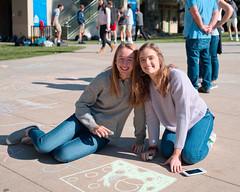 CL20171121-002.jpg (Menlo Photo Bank) Tags: chalk photobycyruslowe girls people drawing formalgroupphoto upperschool 2017 fall quad menloschool atherton ca usa us