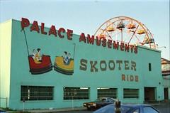 Skooter Rides Asbury Park 1988 (Meredith Jacobson Marciano) Tags: asbury arcade amusements scooter boardwalk