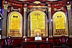 DSC_2685 HDR John Wesley's Chapel City Road London  Thou shalt love the Lord Thy God with All thy Heart and with All they Soul and with All they Mind. (photographer695) Tags: john wesley's chapel city road london thou shalt love lord thy god with all heart they soul mind johnwesley'schapelcityroadlondonthoushaltlovethelordthygodwithallthyheartandwithalltheysoulandwithalltheymindthisisthefirstandgreatcommandmentjohnwesley'schapelcityroadlondonibelieveingodthefatheralmighty thecommunionofsaintstheforgivenessinsinstheresurrectionofthebodyandthelifeeverlastingamenandthesrcondislikeuntoitthoushaltlovethyneighbourasthyselfonthesetwocommandmentshangallthelawandprophets
