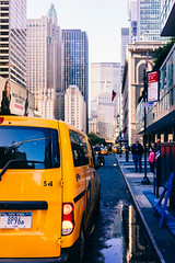 Be thankful for everything you have! (RomanK Photography) Tags: manhattan nyc newyorkcity street streetphotography cabsofnewyork sonyalpha taxi yellowcab thankyou