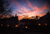 Light show (ewitsoe) Tags: canon staryryenkcityscape poznan poland sky lights dawn autumn eos 6dii sigma city morning ewitsoe sunrsie sun dark cluds purple haze artseries20mm 20mm14f