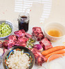 Oxtail ragožt mise en place. (annick vanderschelden) Tags: england oxtail raw meat miseenplace ingredients ragout pressurecooker recipe traditional culinary taste britishisles stew forties fifties america comfortfood oxtails cooked pressure pressurereleased vegetables underpressure cutsofbeef quickrelease gravy congealedfat defattedbroth oil jointscut fat onion choppedonion garliccloves mincedgarlic minced celery celerystalks finelychopped stout bottle beer guinness beefbroth bouillon tomatopaste driedthyme thyme drymustard bayleaf whiteturnips frozen cornstarch salt food flavour saltybroth cooker highheat browning saute stirring carrots belgium