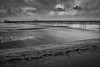 Southport Pier mono (paul_taberner_photography) Tags: southportpier coast blackwhite blackandwhite beach winter