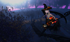 Witch's guide (kyoka jun) Tags: show club ärty arty witch irrisistible halloween dance secondlife
