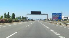 A-23-89 (European Roads) Tags: a23 huesca zuera zaragoza españa aragón spain autovía