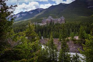Fairmont Spring Hotel. Banff. Alberta. Canada.