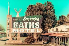 Buckhorn Baths Motel (Thomas Hawk) Tags: arizona buckhornbaths mesa usa unitedstates unitedstatesofamerica abandoned deer motel neon fav10 fav25 fav50 fav100