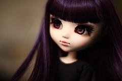 Pandora (Blublue) Tags: blublue pullip doll jun planning groove wig perruque cancan purple violet rose pink eyes fc full custom kaléa saint seiya pandore pandora