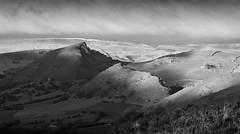 Hills of the Upper Dove Valley (l4ts) Tags: landscape derbyshire peakdistrict whitepeak upperdovevalley axeedgemoor chromehill parkhousehill highwheeldon hitterhill lightandshadows blackwhite