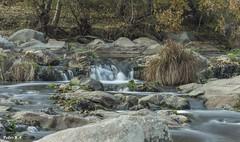 Efecto seda (pedroramfra91) Tags: otoño autumn rio river paisaje landscape exteriores outdoors agua water seda