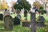 Gravestones (DuncanGreenhill) Tags: leicester pentaxmx 50mmf17 pentaxmsmc50mmf17 smcpm50mmf17 welfordrdcemetery