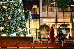 Christmas spirit at Jingan | Świąteczna atmosfera
