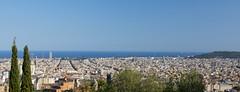 Barcelona panorama (kalakeli) Tags: barcelona september 2017 panorama impressions impressionen parkguell parkgüell