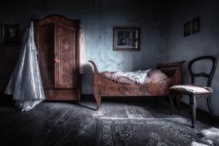 das Bett der Prinzessin
