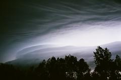 view from my bedroom window (BRE@NNE) Tags: narol manitoba clouds film yashica autumn storm sky