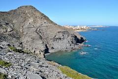 Cabo de Palos from Calblanque cliffs (La Mon1) Tags: calblanque marminor spain espana