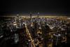 Chicago Lights (Jake Petre) Tags: chicago longexposure tripod hancocktower observationdeck citylights city skyscrapers canon 70d wideangle landscape