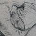 MILLET Jean-François - Moissonneuse endormie (drawing, dessin, disegno-Louvre RF250) - Detail 21