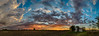 Harvest Sunset (tquist24) Tags: goshen hdr indiana nikon nikond5300 outdoor blue clouds color evening farm geotagged orange panorama panoramic rural sky sunset tree trees unitedstates