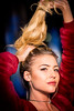stretch (CarinaMcKee) Tags: nikon portrait blonde face woman stretch