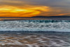 Sunset, Pacific Ocean (Hanna Tor) Tags: sundown light night color wave beach nature shore california pacific trip travel sony hannator sky sony7rm3