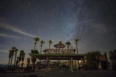 Delores Lake Water Park (PhotonLab) Tags: abandoned graffiti urban calligraphy art night scene shooter nightsky owl galaxy milkeyway bombing sony a7ii zeiss lens carl desert waterpark delores water park sky grass