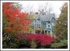 Old Time Autumn Color in Ypsilanti's Depot Town (sjb4photos) Tags: michigan ypsilanti washtenawcounty autumn depottown house