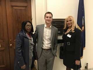 Max Whitcomb, Legislative Assistant for Congresswoman Carolyn Maloney