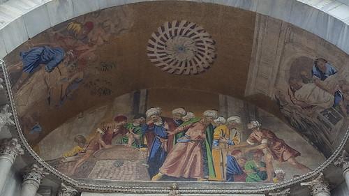 Transporte de los restos de San Marcos a Venecia
