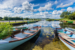 Lough O'Flynn, Roscommon, Ireland (Anthony Lawlor) Tags: lough oflynn roscommon ireland ballinlough west countryside lake sky clouds blue green boats freshwater fishing