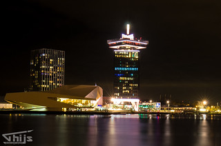 Amsterdam by night (A'dam tower)