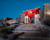 Shuri Gate (Stuck in Customs) Tags: japan okinawa 80stays rcmemories treyratcliff stuckincustoms stuckincustomscom gate castle red stone wood old culture night aurorahdr hdr hdrtutorial hdrphotography hdrphoto