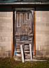 Double locks (hutchphotography2020) Tags: slats door rottenwood cinderblock nikon