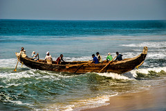 Varkala (Valdas Photo Trip) Tags: india kerala varkala travel travelphotography fishing