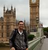 Me in London! (Devon OpdenDries) Tags: london england uk britain british tourism travel city exploring canon5dmkii tourist elizabethtower bigben clocktower