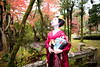 Mameryu - Maiko in Kyoto 06 (JUNEAU BISCUITS) Tags: maiko geisha kimono japan osaka japanese beauty portrait portraiture garden