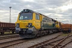 70008 (40011 MAURETANIA) Tags: crewe ef1635mmf28lllusm canon70d crewebasfordhall fugley freightliner class70 freight cheshire railway tmd depot westcoastmainline