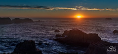 """""""We are tied to the ocean... (Selkii's Photos) Tags: california clouds coast coastline dusk evening highway1 ocean pacificocean roads seascape sunset water"""