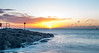 Sunrise by the stone groynes (R M Photography) Tags: nikon nikonfxshowcase d3300 sun sunrise sigma1835mmf18 sigma1835f18 sigma water waves calmwater clouds groyne stones stonegroyne sky sandbanks beach morning inspiredbylove
